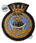 ARK ROYAL - Blazer Badge~OFFICIALLY LICENCED PRODUCT